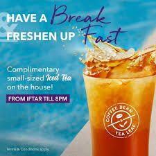 Search by location, price and more, such as looking for cafes & coffee places? The Coffee Bean Tea Leaf Singapore Free Small Sized Iced Tea Promotion Ends 16 May 2019 Tea Leaves Iced Tea Iftar
