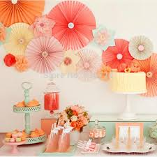 cheap paper fans sets set pcs fiesta paper fan decorations pinwheels wedding decoration multi color sets set pcs fiesta paper fan decorations pinwheels wedding decoration
