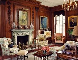 Traditional (Victorian, Colonial) Living & Family Room by Barbara Eberlein