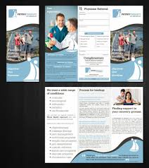 Physiotherapy Leaflet Design Pin By Vrinda Arora On Physiocare Medical Brochure
