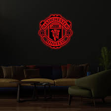 Manchester united football club is a professional football club based in old trafford, greater manchester, england, that competes in the premier league, the top flight of english football. Buy The Best Manchester United Led Logo In India Hustlezy