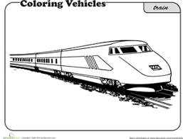 Small Picture Train Coloring Pages Educationcom