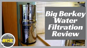 Big Berkey Water Filter Product Review Water Filtration System