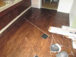 vinyl tile flooring installation