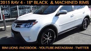 2015 toyota rav4 black. 2015 toyota rav 4 with 18 inch custom black rims u0026 tires toyota rav4 black