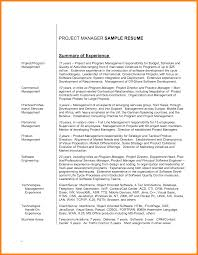 7 Sample Resumes Summary Offecial Letter