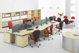 long office table. office u0026 workspace furniture beige scheme feature long table grey partition with