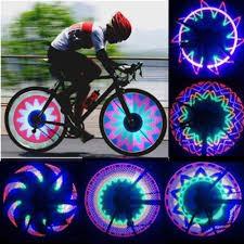 Lights On Wheels Of A Bicycle Led Bicycle Wheel Light 42 Styles Bike Spoke Lights Night