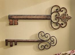new 2 decorative antique vintage wall keys style 24 20