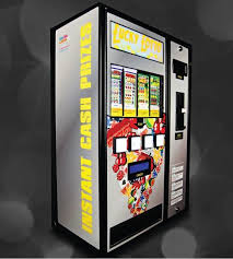 Used Pull Tab Vending Machines Simple Interclub Lotteries The Pulltab Warehouse Coinslot International
