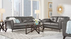 dark gray living room furniture. Fine Dark Sofia Vergara Living Room Set Living Room Set With Dark Gray  Leather Sofa And Loveseat Throughout Dark Gray Furniture O