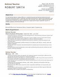 These samples can help you frame your experience and people skills. Retired Teacher Resume Samples Qwikresume