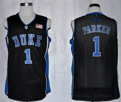 Devils Parker Jabari College 1 Jersey Acc Duke Black Nba Patch-cheap Store Blue Wholesale Performance Ncaa Basketball