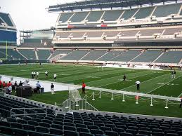 Lincoln Financial Field View From Lower Level 104 Vivid Seats