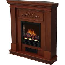 large 1500w heat adjule electric wall mount free standing fireplace heater with glass xl com