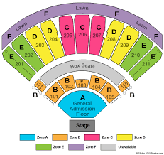Amp Seating Chart White River Amphitheater Seating Chart White River