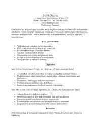 Sample Resume For Retail Sales Resume Sample Sales Associate Resume Sample Sales Associate