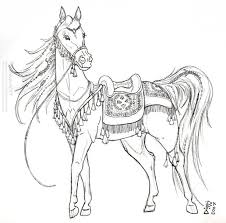Underwater Carousel Horse Pictures To Color