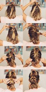 Best 25+ Braid short hair ideas on Pinterest | Short hair braids ...