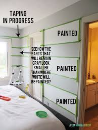 how to paint striped walls how to tape so your lines are perfect