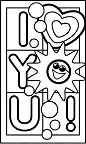 Small Picture I Love You Coloring Pages GetColoringPagescom