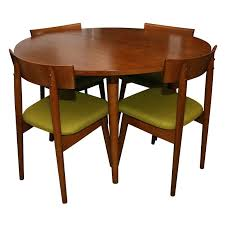 1950s dining table and chairs dining table with 4 chairs by ball wright vine 1950 dining