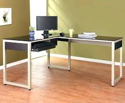 full size of kidney shaped glass computer desk for l top reception large furniture likable