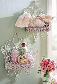 Bathroom essentials- towels, soap, q-tips? Pink Bathroom VintageShabby Chic  ...
