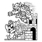 Kleurplaten Mario Bros En Luigi Nintendo