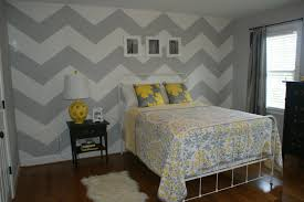 Olivia Grayson gray and white chevron walls