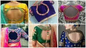 Latest Blouse Designs Photos 2019 Designer Blouse For Silk Saree Blouse Design 2019 Latest Blouse Design Fashion Friendly