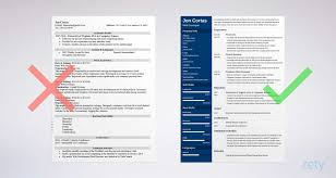 Free Resume Templates For Word 15 Cvresume Formats To Download
