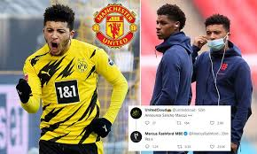He has also described sancho, 21, as his 'favourite player in the bundesliga' when asked by a fan on social media. Has Marcus Rashford Confirmed Jadon Sancho S Move To Manchester United Daily Mail Online