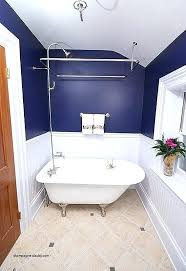 shower curtain tub solution solutions for luxury choosing the right bathtub a small bathroom clawfoot ring