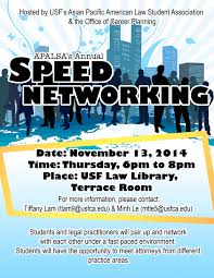 Usf Apalsas Annual Speed Networking Event Fbanc