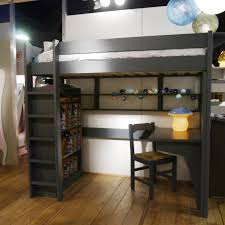 fabulous ikea loft bed design with desk and chairs also bookcase as well as wooden