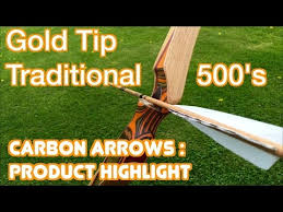 Goldtip Traditional Carbon Arrow Product Highlight Youtube