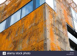 Cor ten steel Rust Detail Of Corten Steel Exterior Of The Ac Cordoba Palace Hotel Alamy Detail Of Corten Steel Exterior Of The Ac Cordoba Palace Hotel