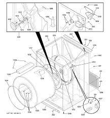 Ge model dsxh47eg0ww residential dryer genuine parts