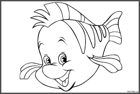 Ariel Coloring Pages Awesome Activity Little Mermaid Fish Book The