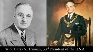 Resultado de imagen para HARRY TRUMAN FREEMASON 33