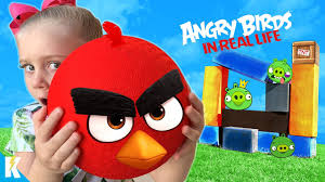 Angry Birds Movie 2 in Real Life Game for Kids!!! KIDCITY - YouTube