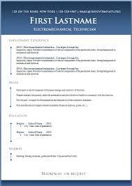 Free Resume Template Word Document Laurapo Dol Nick