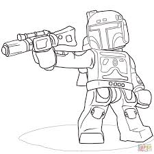 Small Picture Stunning Boba Fett Coloring Pages Printable Ideas New Printable