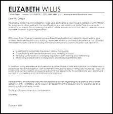 fraud investigator cover letter sample livecareer background investigation cover letter
