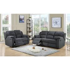 miami charcoal grey fabric sofa 3 2