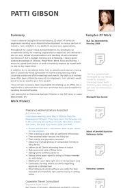 Administrative Assistant Resume Samples Visualcv Resume Samples