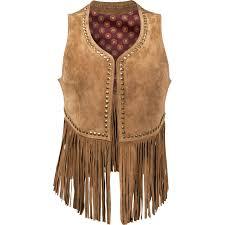 durango leather company women s spring bear vest large