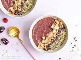 healthy keto electrolyte smoothie bowls