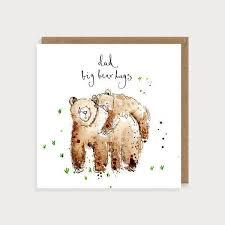 Dad <b>Big Bear Hugs</b> Card | Louise Mulgrew